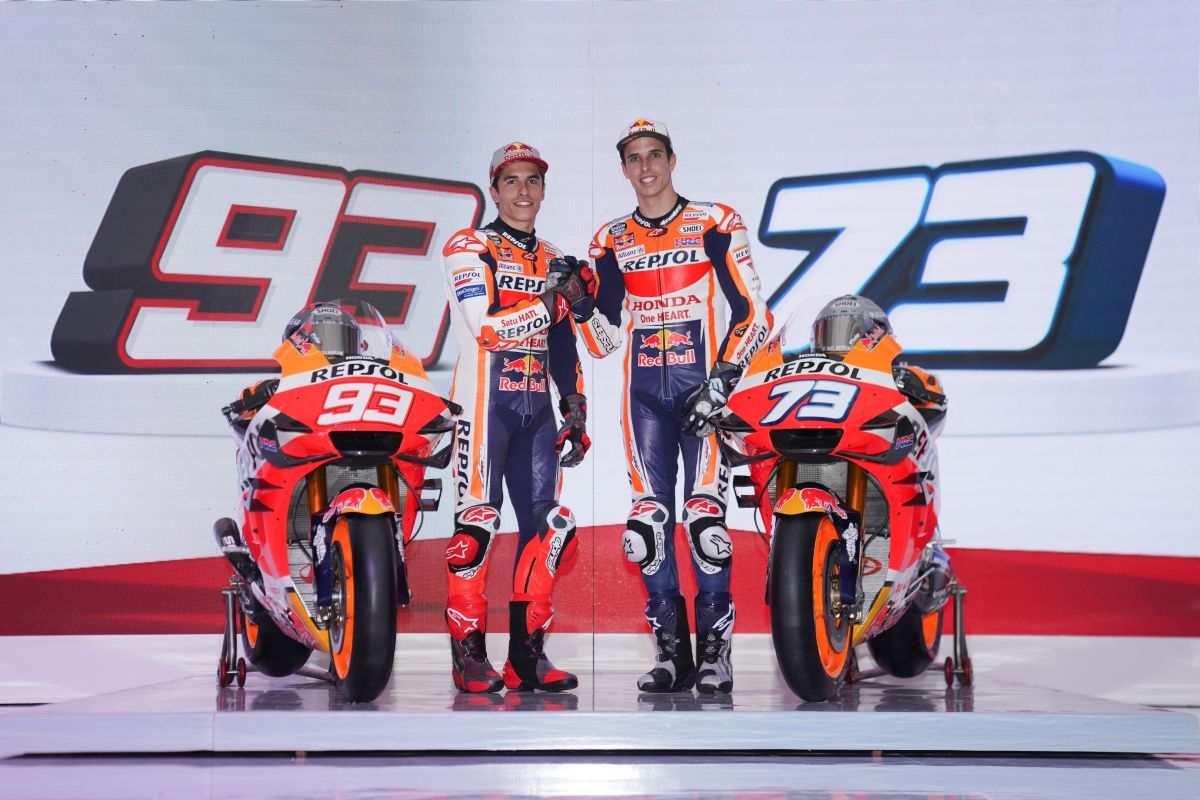Presentado el equipo Repsol Honda MotoGP 2020 de los hermanos Marquez