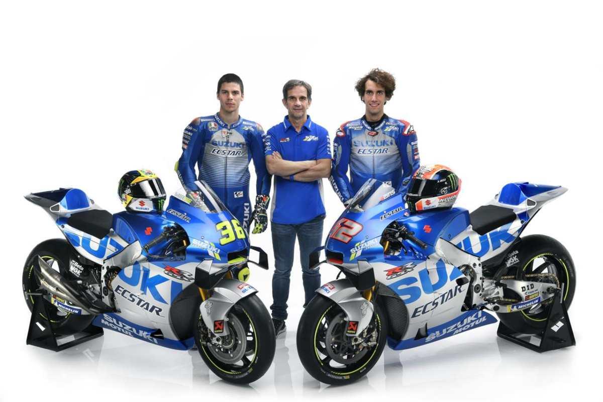 Equipo Suzuki MotoGP 2020 - Rins - Mir