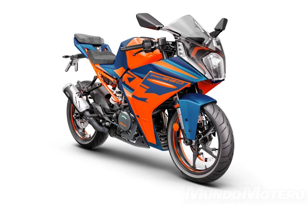 Nueva KTM RC 390 2022