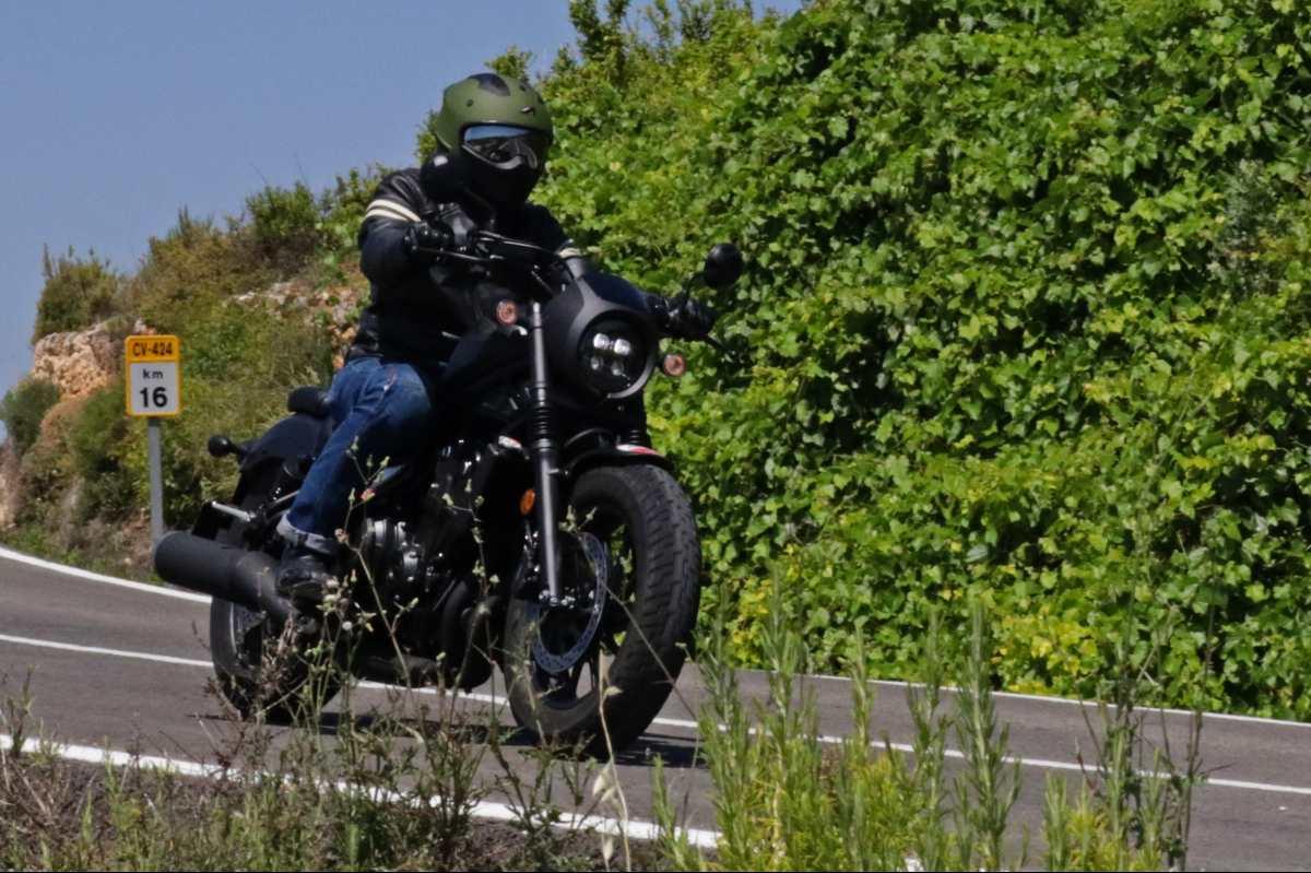 Honda Rebel 500 velocidad máxima