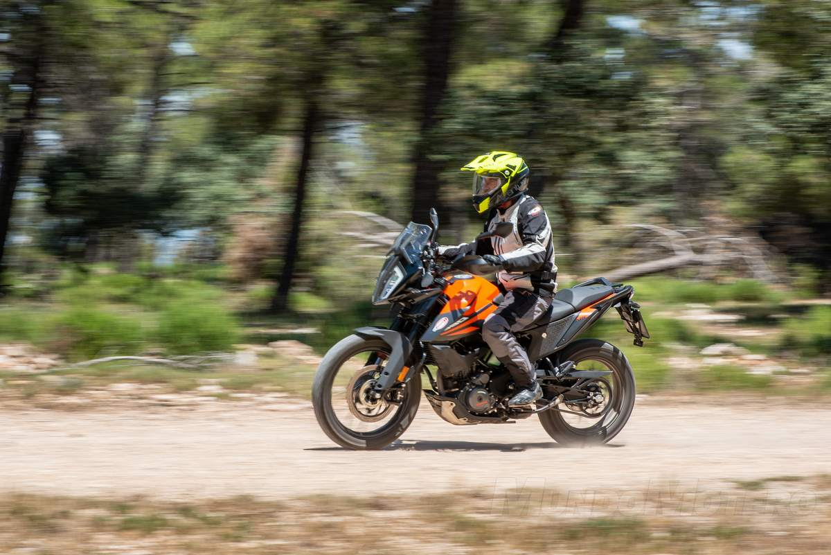 Prueba KTM 390 Adventure