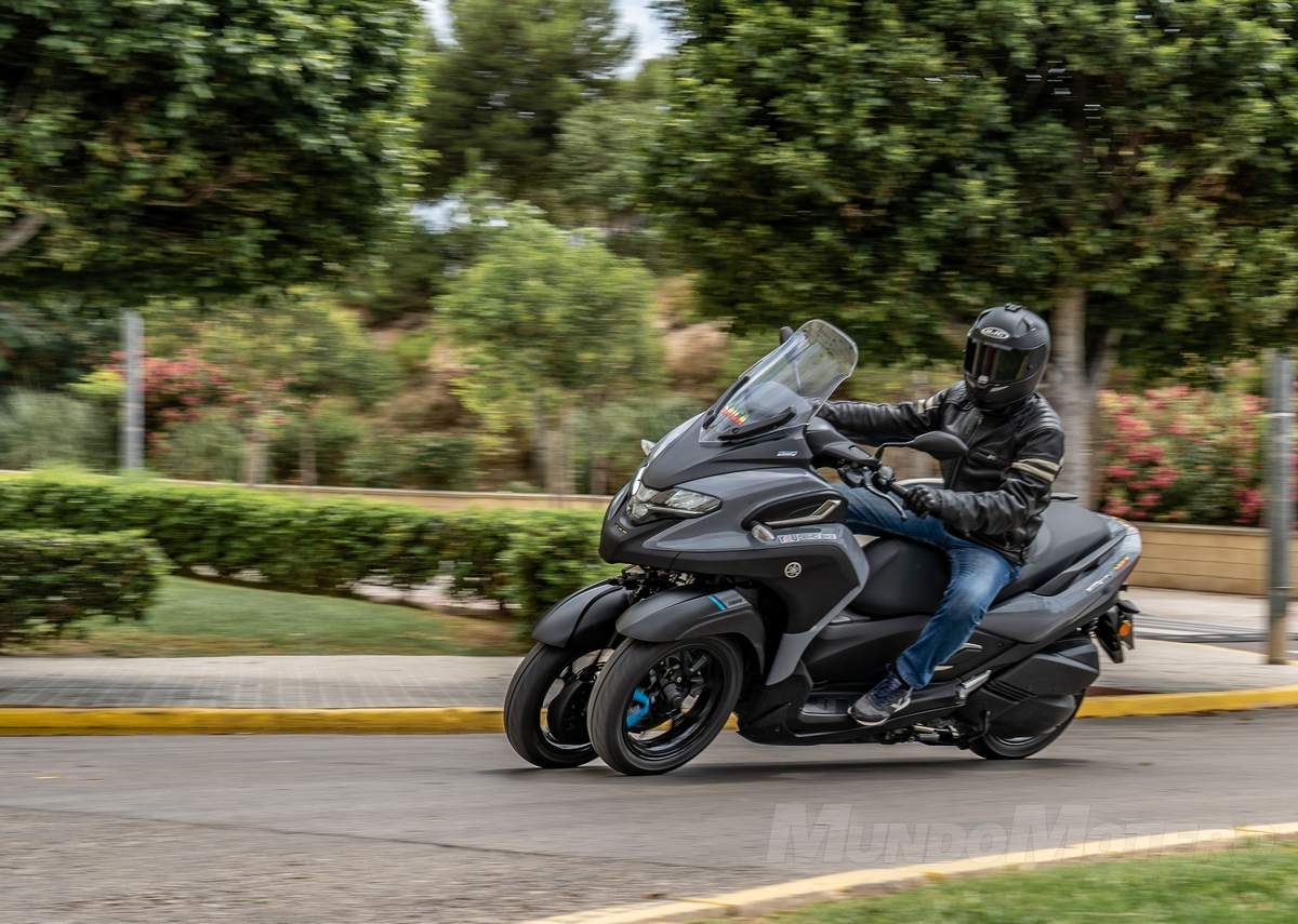 Prueba Yamaha Tricity 300