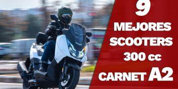 Los 9 mejores Scooters 300 para el Carnet A2 - Relación Calidad Precio