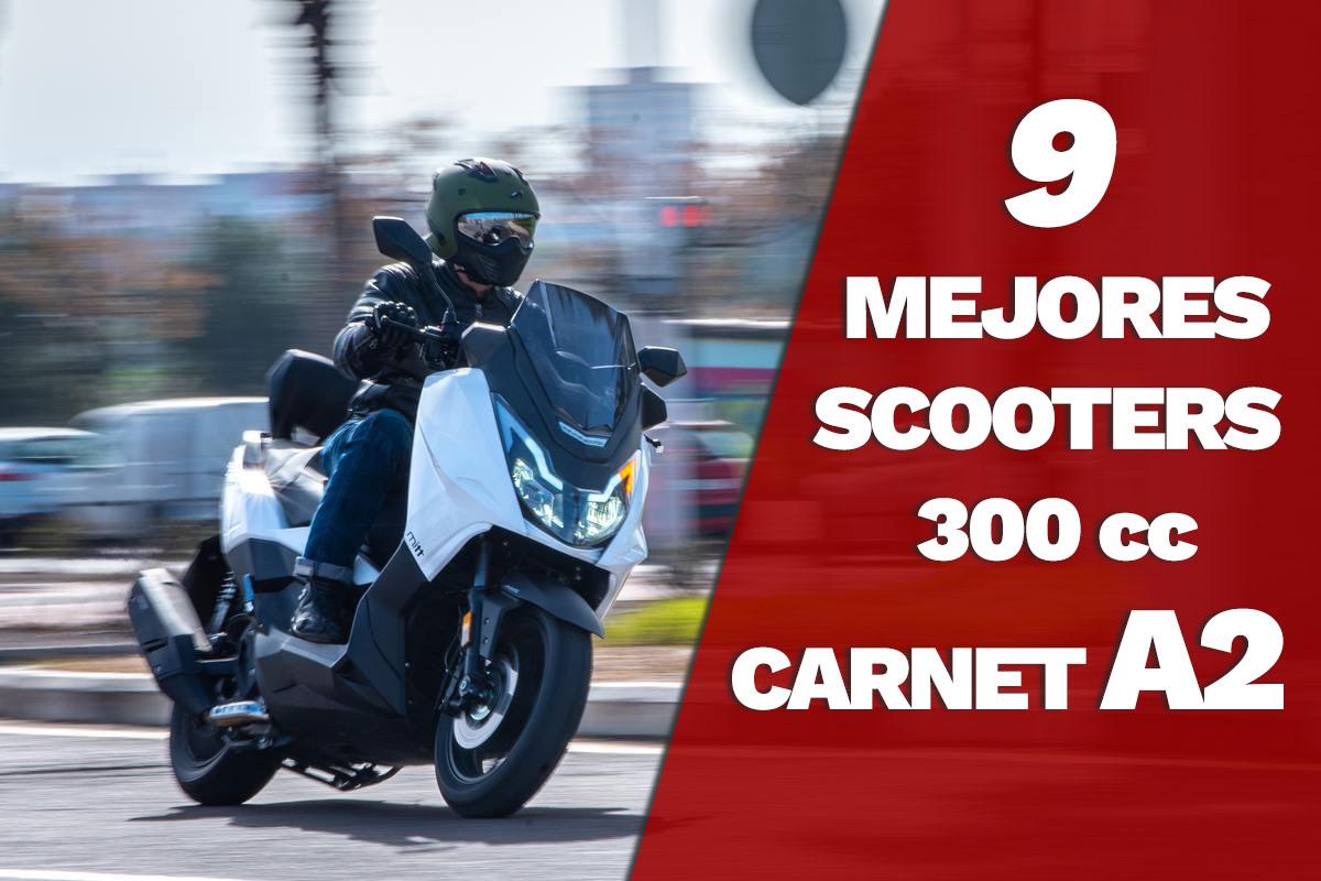 Los 9 mejores Scooters 300 para el Carnet A2 – Relación Calidad Precio