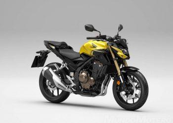 Nueva Honda CB500F 2022