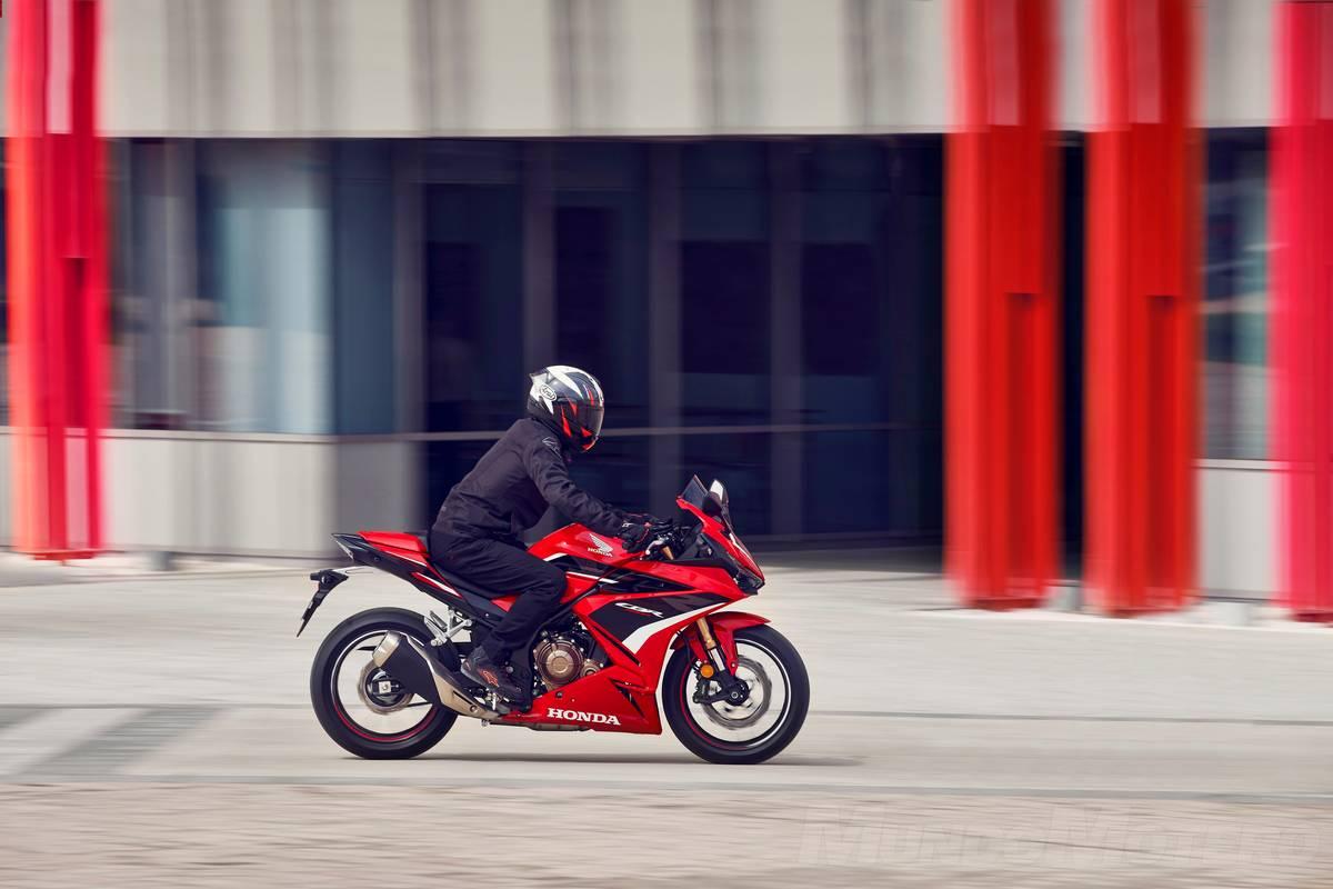 Nueva Honda CBR500R 2022