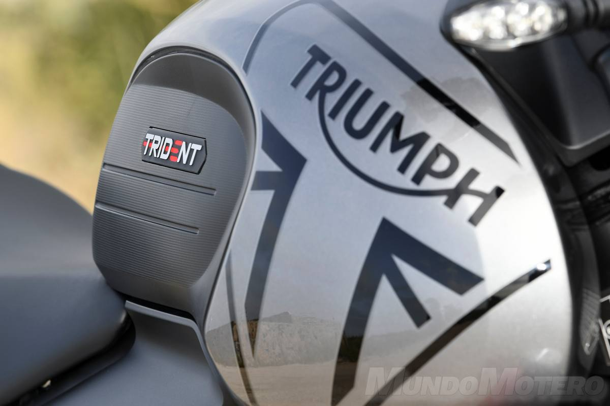 Prueba Triumph Trident 660