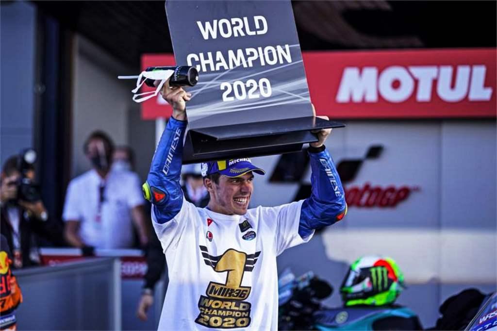 Joan Mir, nuevo campeón del mundo de MotoGP 2020