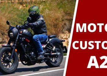 Mejores motos custom A2