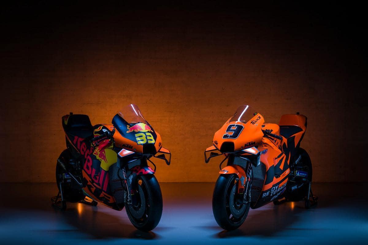 Equipos KTM MotoGP 2021