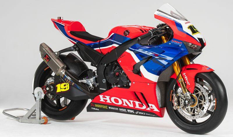Honda SBK 2021