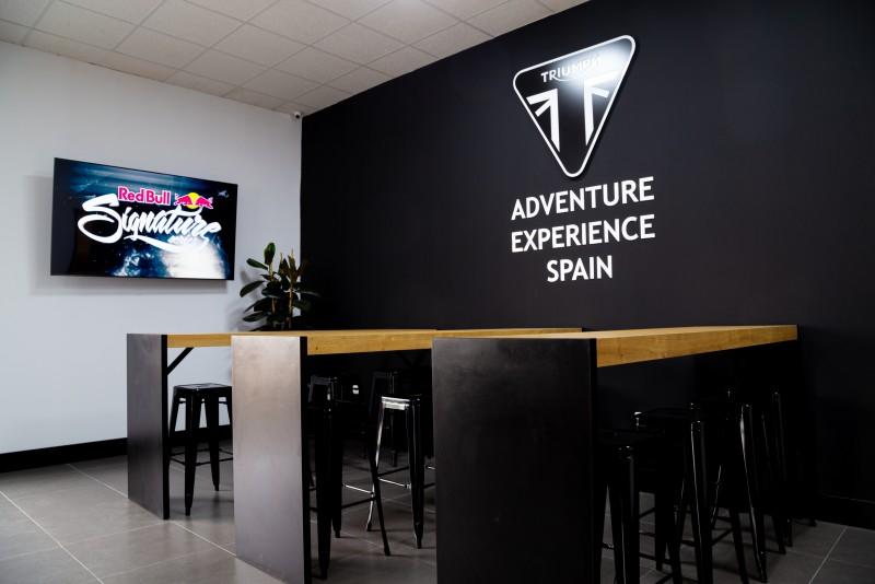 Nuevo centro Off-Road Triumph Adventure Experience Spain